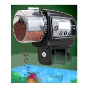 Digital Automatic Auto Aquarium Tank Pond Fish Timer Food Feeder LCD 4 times