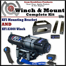 KFI 3000 lb Winch Combo for All Polaris Ranger RZR 570 and 800 (100660)