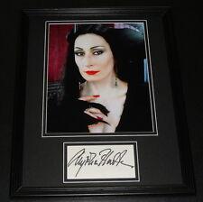 Anjelica Huston Signed Framed 11x14 Photo Display The Addams Family B