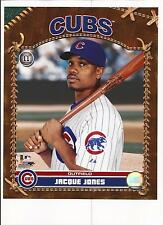 Jacque Jones Unsigned 8x10 Photo Chicago Cubs