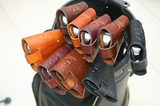 CLUBSHIELDS -  LEATHER GOLF IRON HEAD COVERS - $16.00 each Cover