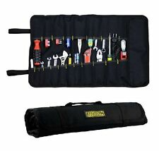 GJQT13 Multifunctional Canvas Chisel Roll Tool Bag With Carrying Handle NEW