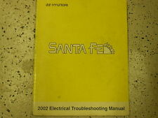 2002 Hyundai Santa Fe Service Electrical Troubleshooting Manual FACTORY BOOK OEM