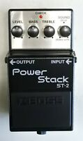 BOSS ST-2 Power Stack Guitar Effects Pedal 2010 #1 with Box DHL Express or EMS