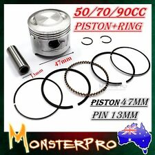 70 cc Engine 47mm Piston Rings Set Kit For Honda CRF 70 F XL 70 XR 70 R