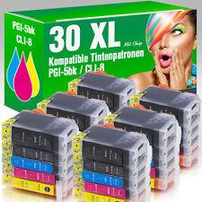 30 Druckerpatronen für Canon MP 610 mit Chip