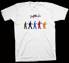 Genesis T-Shirt Phil Collins, Peter Gabriel, Steve Hackett, Anthony Phillips
