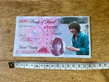 More details for david cassidy novelty money note