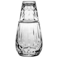 Vista Alegre Crystal Bimini Bottle And Glass Water Set
