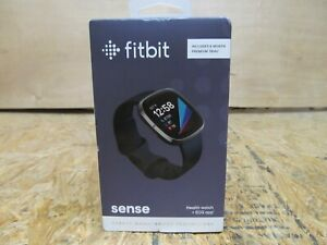 Fitbit Sense Advanced Activity Tracker Smartwatch - Carbon/Graphite ( LOT BBB)