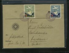 Switzerland   2  soldier  stamps   on  cover            MS1211
