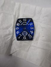 Rare! NOS FRANCK MULLER Geneve Swiss Blue Dial with small seconds sub above 6 hr