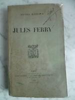 Ritratto Jules Ferry Rambaud Alfred Casa Plon-Feed 1903