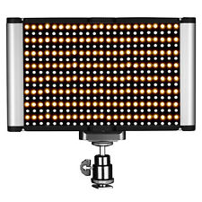Neewer Dimmable Bi-color LED with Standard Cold Shoe for Portrait Photography