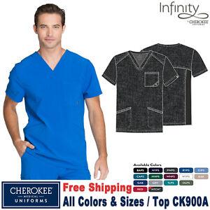 Cherokee Scrubs INFINITY Men V-Neck Top CK900A