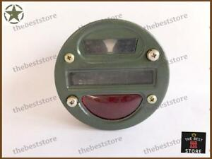 A UNIT OF WILLYS FORD MILITARY JEEP TRUCK CAT EYE TAIL LIGHT 12V (3 POINT)
