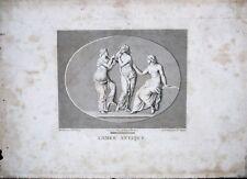GRAVURE-CAMEE ANTIQUE-ROME-GRECE-MYTHOLOGIE-POSEIDON-J.B. WICAR-BERTAUX-2/3
