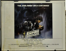 """STAR WARS, EMPIRE STRIKES BACK 1980  STYLE """"A"""" 22X28 MOVIE POSTER  HARRISON FORD"""