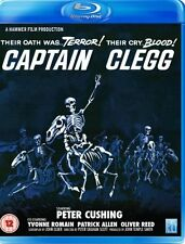CAPTAIN CLEGG       BLU RAY   UK NEW SEALED     PETER CUSHING   HAMMER