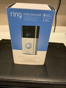 Ring 8VR1S5-SEN0 720P Wireless Door Chime Doorbell