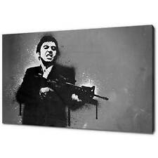 SCARFACE TONY MONTANA AL PACINO CANVAS PRINT PICTURE WALL ART HOME DECOR