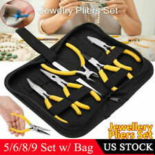 5/8/9Pcs Pro Beading Jewelry Pliers Multi-Purpose Strong Quality Diy Hand Tools