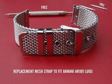 Qualità MESH BAND Bracciale Cinturino per adattarsi EMPORIO ARMANI ar1811 ar1810 Luigi WATCH