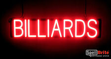 SpellBrite Ultra-Bright BILLIARDS Sign Neon look LED performance