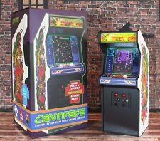 "Replicade X Centipede 12"" Mini Arcade Machine 1/6 Scale Wood Cabinet Atari"