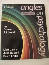 Angles on Psychology 2nd edition for Edexcel A2 level textbook by Folens  Jarvis