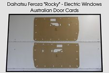 Daihatsu Feroza Rocky Door Cards. Suit Electric Windows. Blank Trim Panels