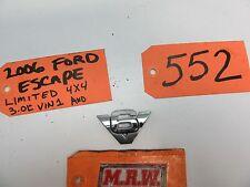 01 02 03 04 05 06 07 FORD ESCAPE V6 EMBLEM LOGO SYMBOL BADGE PLATE HATCH BACK OE