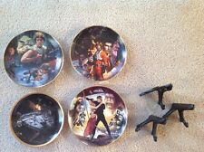 Star Wars Plates:  The Hamilton Collection Set of 4