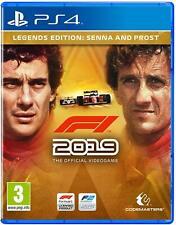 F1 2019 LEGENDS EDITION PS4 GIOCO PLAY STATION 4 SPECIAL ITALIANO FORMULA UNO 19