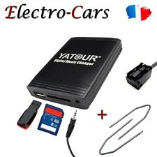 INTERFACE USB MP3 + CLES D'EXTRACTION AUTORADIO COMPATIBLE CITROEN C4 PICASSO