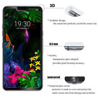 2PACK Tempered Glass Screen Protector Shield Film Full Cover H9 For LG G8 ThinQ