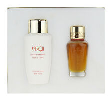 Houbigant Apercu 2 Piece Gift Set EDT 1.7Oz & Body Lotion 6.6Oz