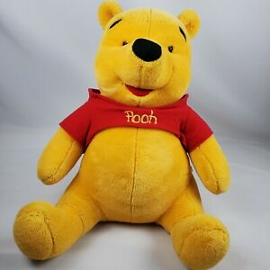 "Vintage Mattel Disney Arco Toys Large Pooh Plush 24"" Winnie The Pooh"