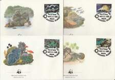 WWF 4 x FDC Marshall Islands 1986 - Koralen (146)