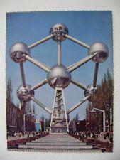 DESIGN XXe : Originele VINTAGE EXPO ATOMIUM 58' XL Postkaart door Edition BEATIC