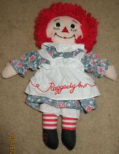 """Applause 12"""" Raggedy Ann Doll:"""