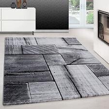 Teppich modern design teppich Rechteck Pflegeleicht 3D Baum PatchworkSchwarz
