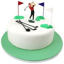 PME Golf Decorationsplastic Figures Greenredbluewhiteblack Set of 13