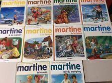 Lot 10 livres Martine (n2)