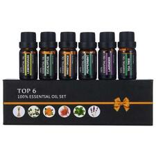Essential Oils Set of 6-100% Pure Natural Plant Aromatherapy Kit 10ml Gift AU