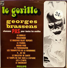 GEORGES BRASSENS: Le Gorille-NM1967LP FRENCH IMPORT