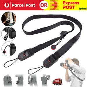 Camera Strap Quick Release Neck Hanging Belt Leash Shoulder for DSLR/SLR Camera