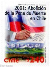 Chile 2002 #2108 Abolicion Pena de Muerte MNH