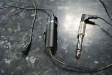 Vintage 33-3003 Genexxa Omnidirectional Lapel Mic Microphone
