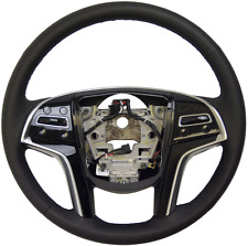 2014 Cadillac SRX Steering Wheel Black Leather New W/Adaptive Cruise 23187009